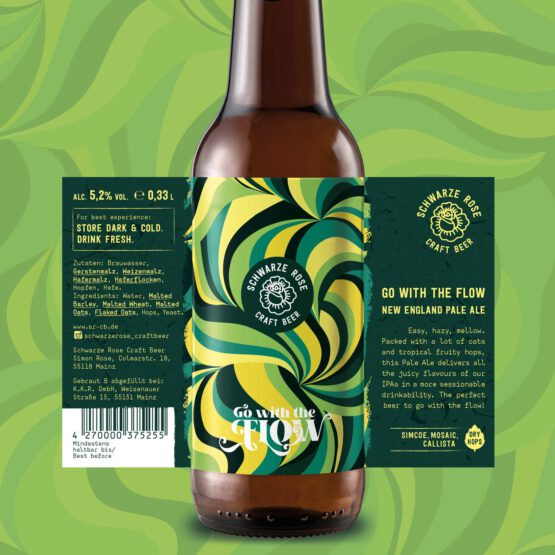 Go with the Flow Pale Ale Schwarze Rose Craft Beer