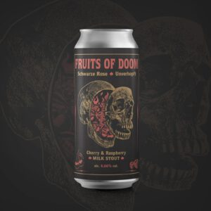 Fruits of Doom Cherry & Raspberry Milk Stout Schwarze Rose Unverhopft