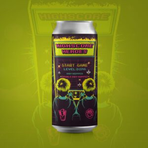 Highscore Heroes DDH DIPA Schwarze Rose True Brew