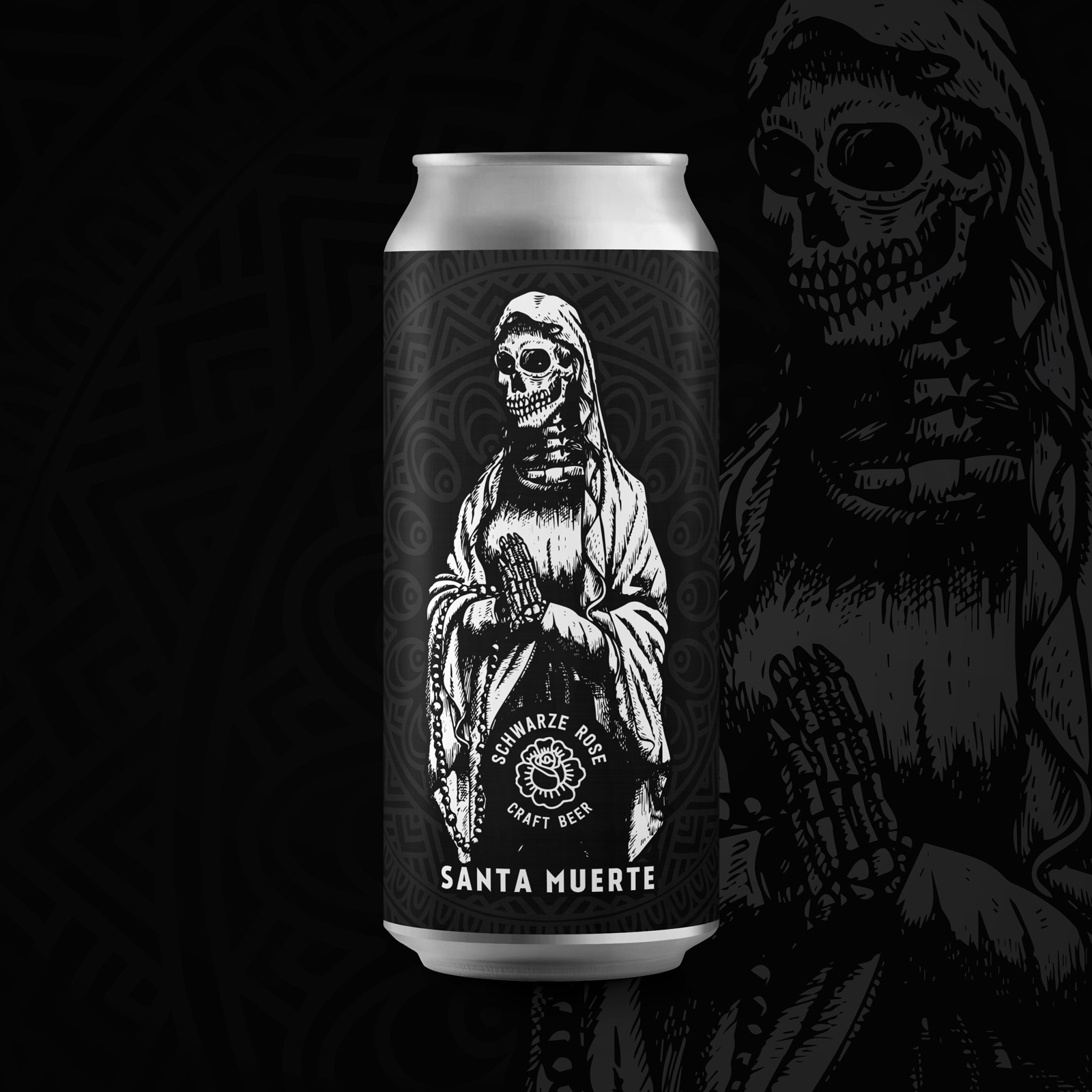 Santa Muerte - Mexican Hot Chocolate Imperial Stout Schwarze Rose